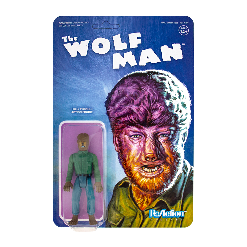 Universal Monsters ReAction Series : The Wolf Man