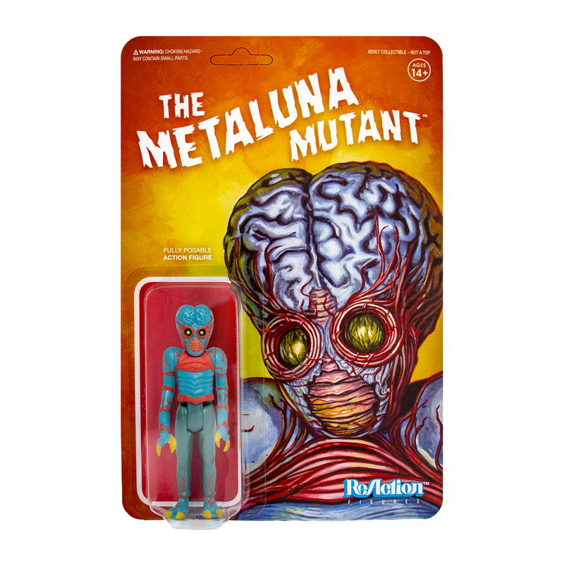 Universal Monsters ReAction Series : Metaluna Mutant
