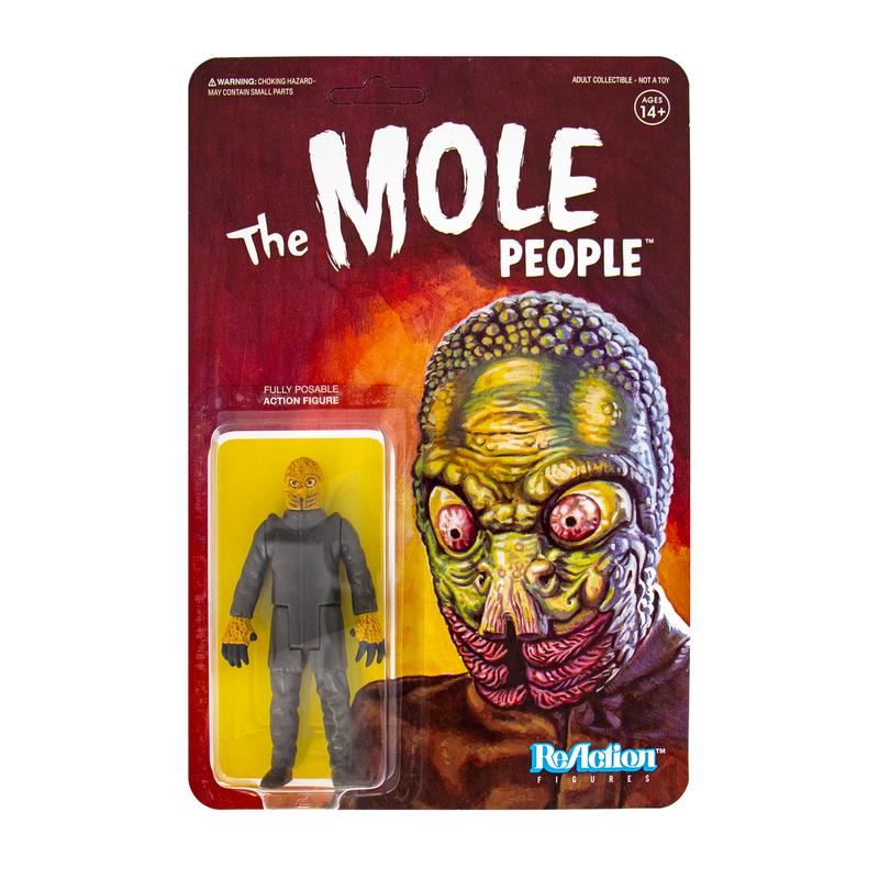 Universal Monsters ReAction Series : Mole Man