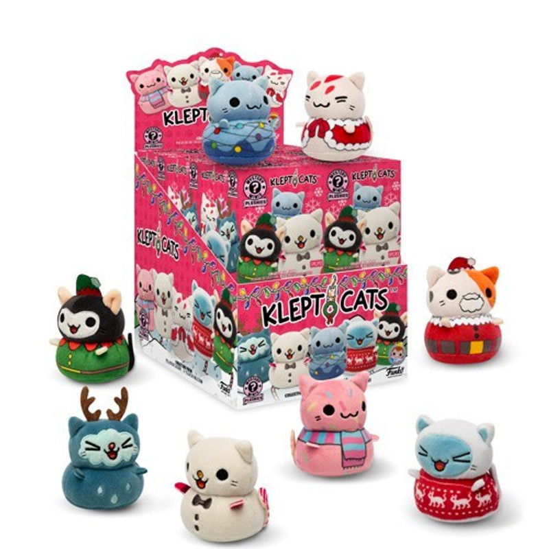 KleptoCats Holiday Plush Mystery Mini Series : Blind Box