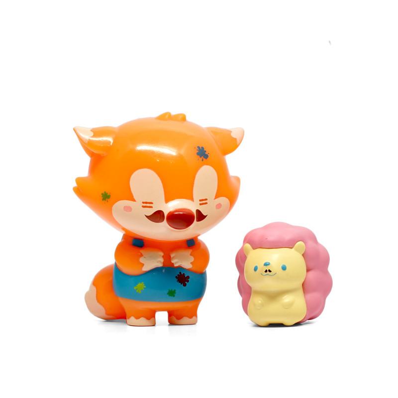 Fox Papa & Pinky Gentleman Dotdot Set
