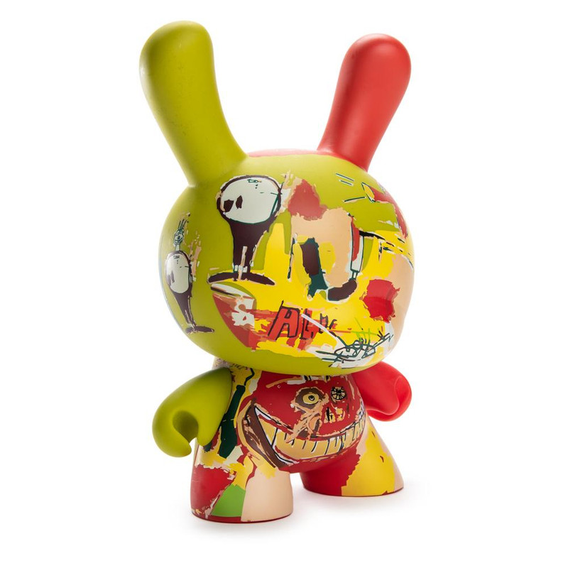 "Jean-Michel Basquiat 8"" Masterpiece Dunny :  Wine of Babylon"