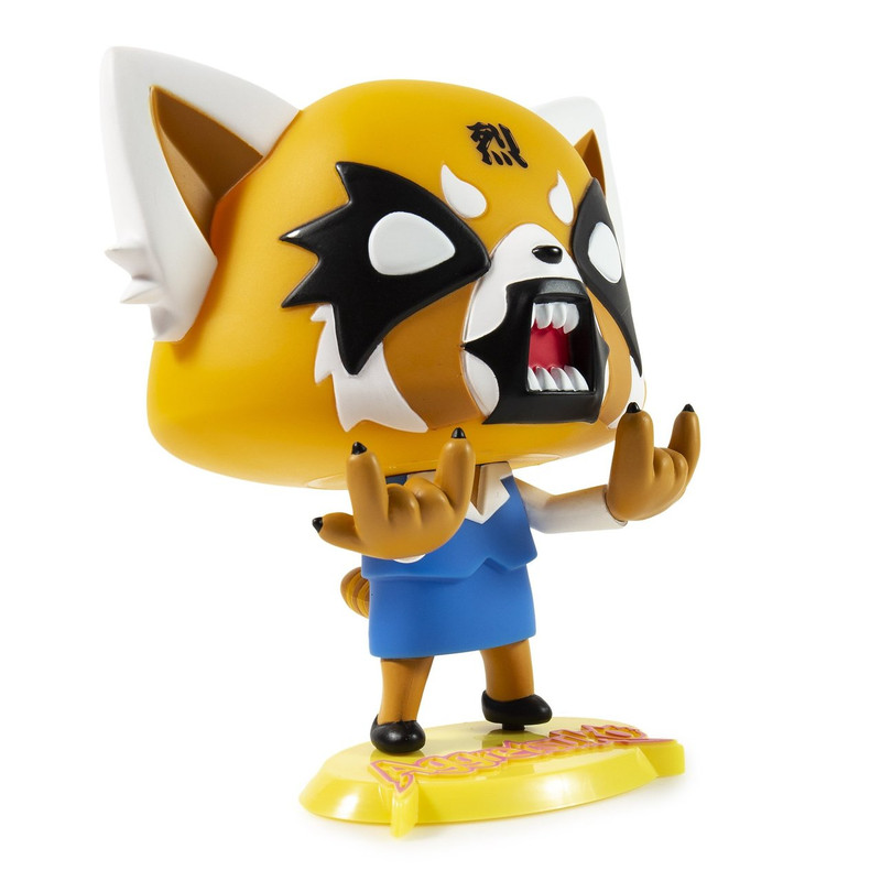 Aggretsuko Rage Art Figure