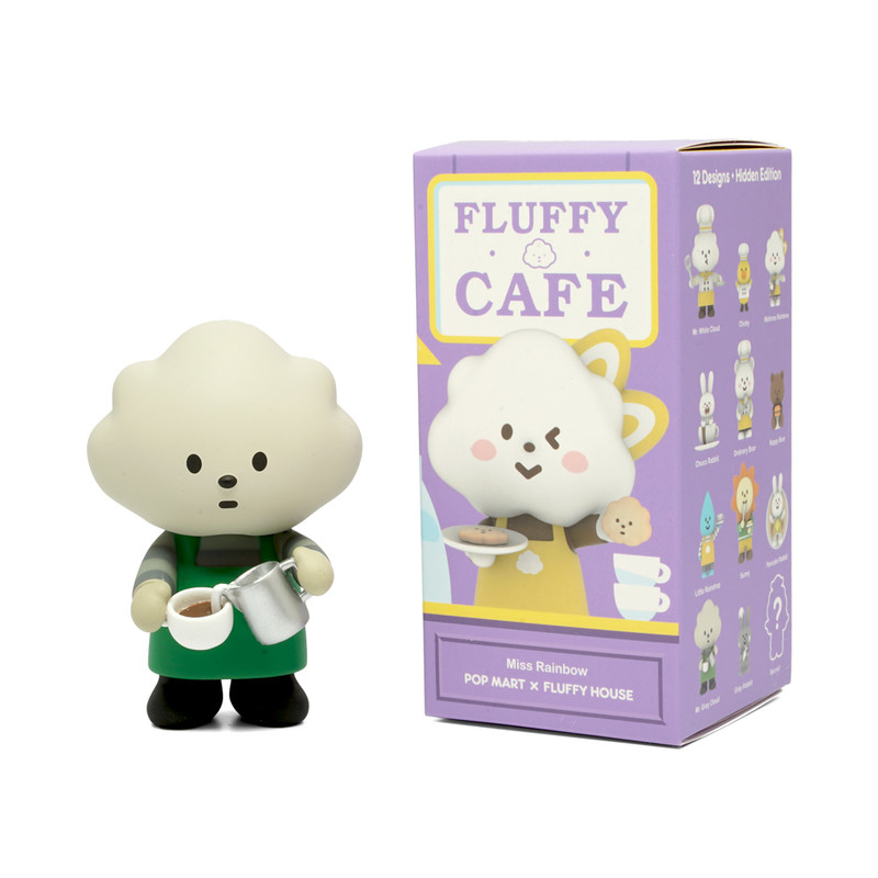 Mr. White Cloud Mini Series 3 Fluffy Cafe : Blind Box