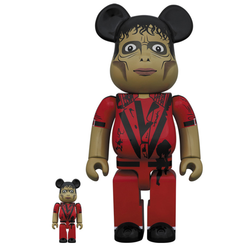 Be@rbrick 400% and 100% : Michael Jackson Thriller Zombie