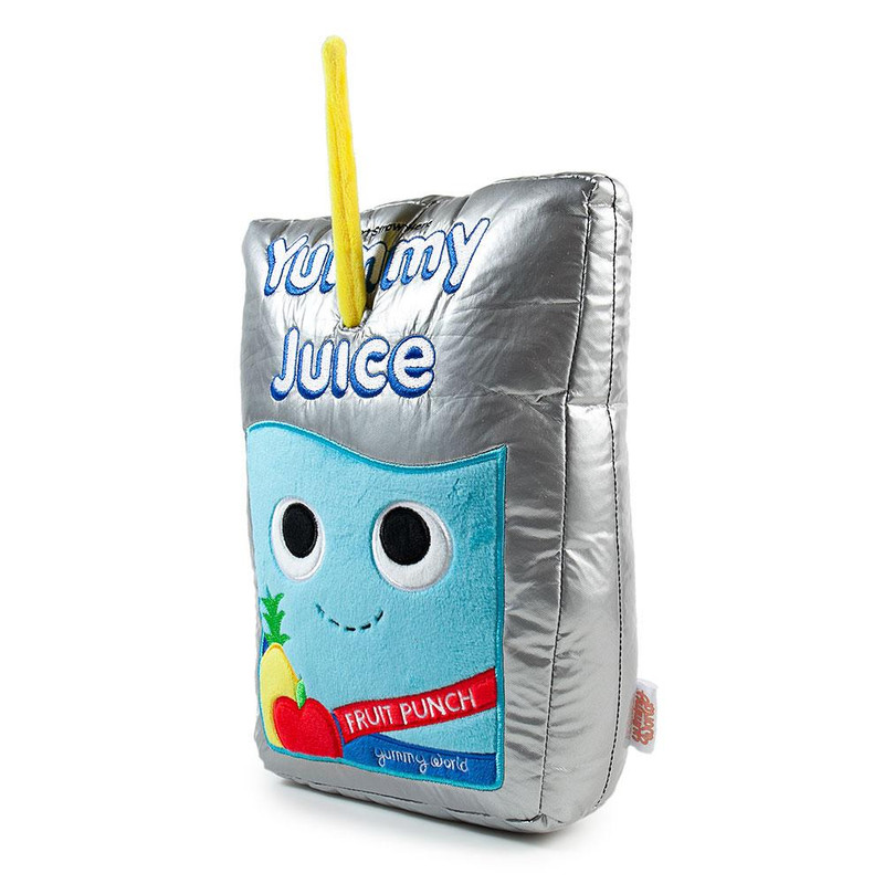 Yummy World Jake The Juice Pouch Medium Plush