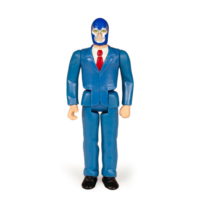 Legends of Lucha Libre ReAction Series : Blue Demon Jr. in Suit