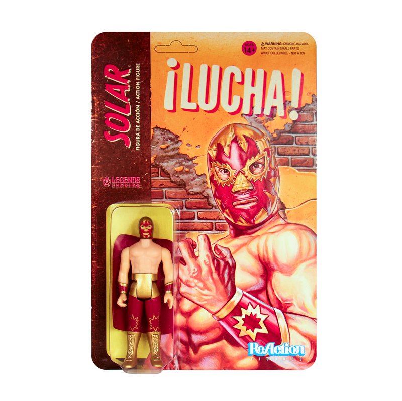 Legends of Lucha Libre ReAction Series : Solar