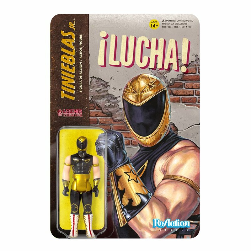 Legends of Lucha Libre ReAction Series : Tinieblas Jr.