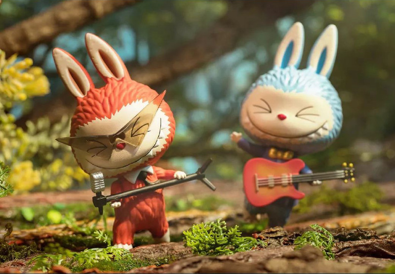 Forest Concert Labubu Mini Series : Blind Box