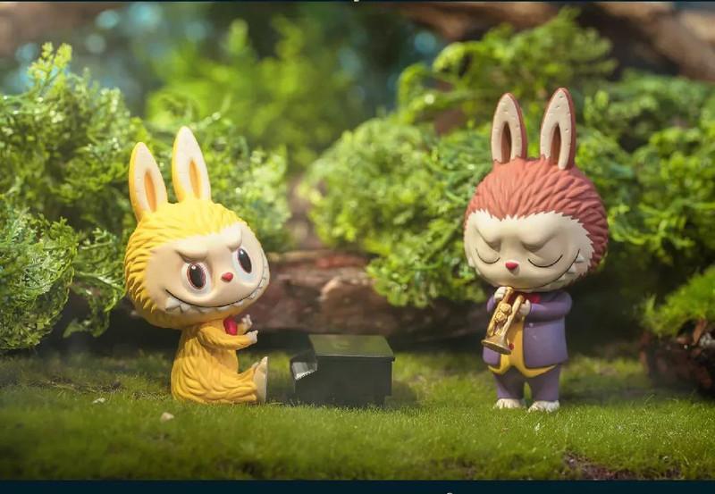 Forest Concert Labubu Mini Series : Blind Box