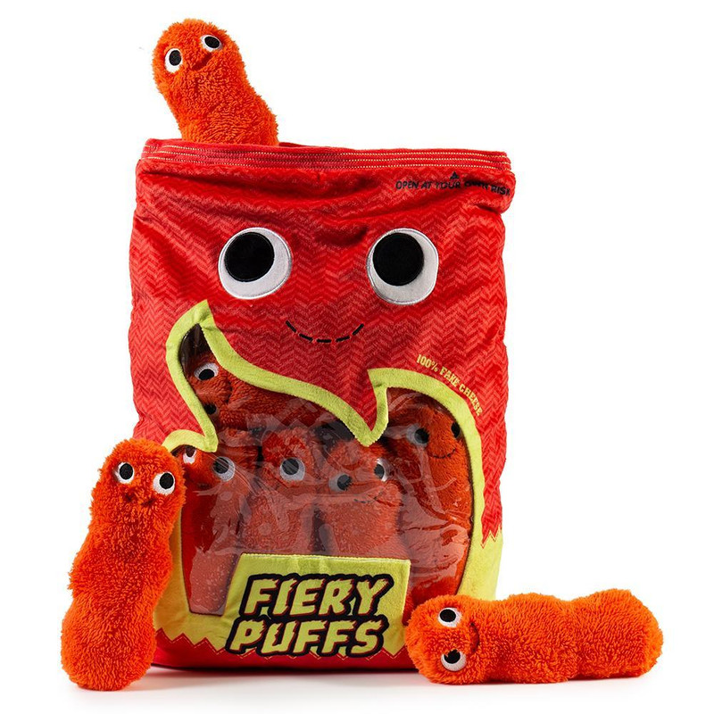 Yummy World Fiery Puffs XL Plush