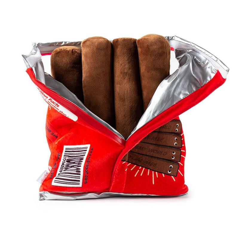 Yummy World Yum-Mee Crispy Chocolate Plush Bars