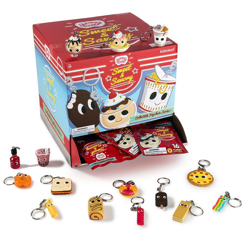Yummy World Sweet and Savory Keychains : Blind Box