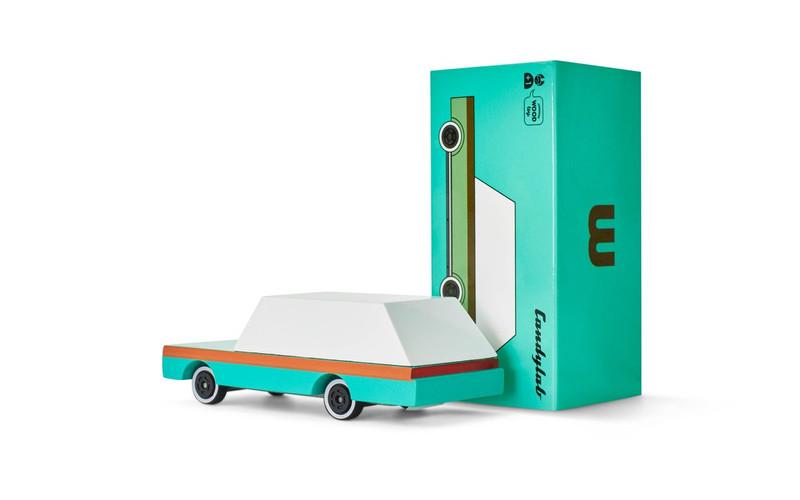 Candycar : Teal Wagon