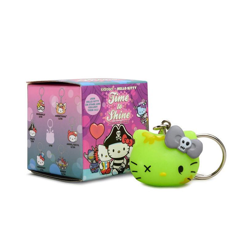 Hello Kitty Time to Shine Vinyl Keychains Blind Box