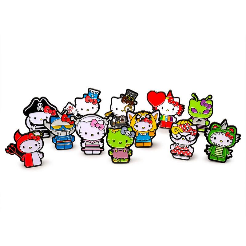 Hello Kitty Time to Shine Enamel Pins Blind Box