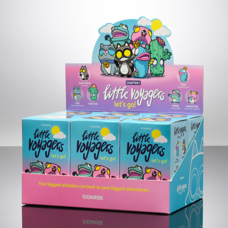 Little Voyagers Let's Go! Mini Series Blind Box by Coarse