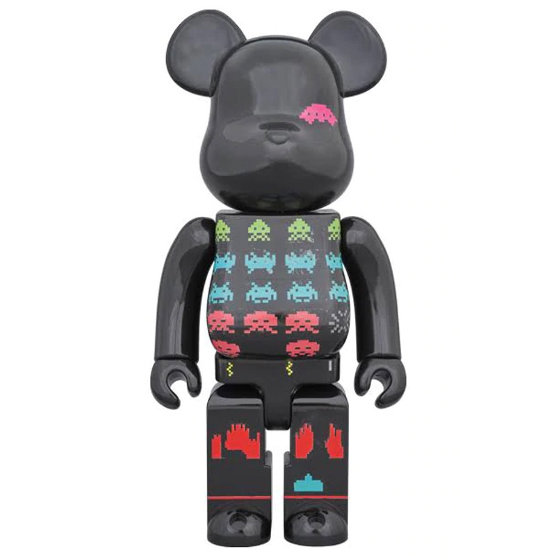 Be@rbrick 400% : Space Invaders PRE-ORDER SHIPS AUG 2019