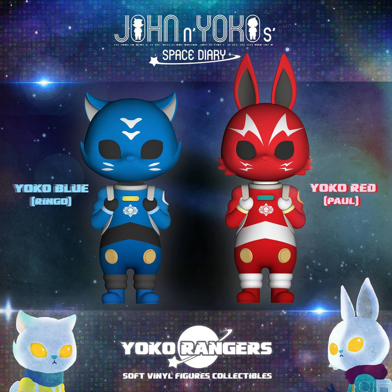John and Yoko Space Diary : Yoko Rangers