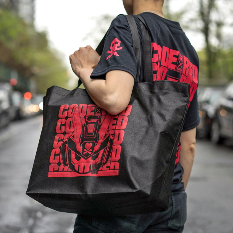CODE RED Tote Bag SHIPS MID MAY 2019