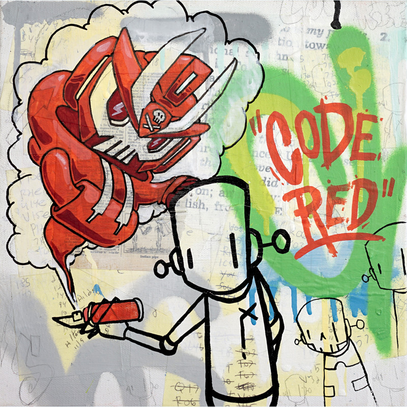 CODE RED Quiccs X ChrisRWK *SOLD*