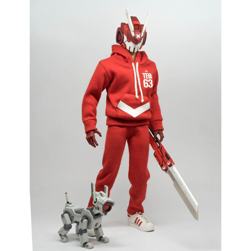 CODE RED TEQ63 1:6 Scale Action Figure *SOLD*
