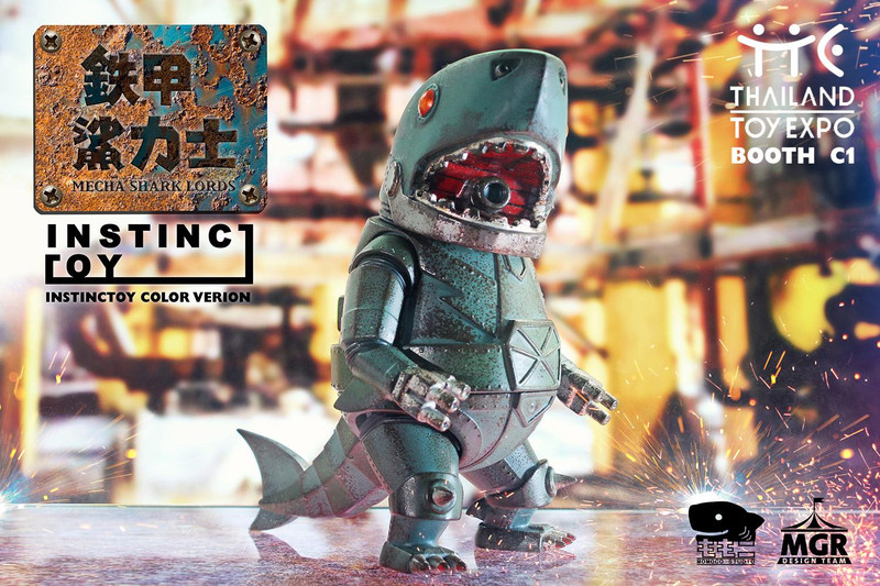 Ironclad Shark : Instinctoy PRE-ORDER SHIPS LATE MAY