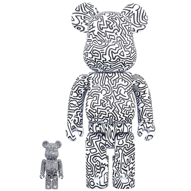 Be@rbrick 400% and 100% : Keith Haring 4