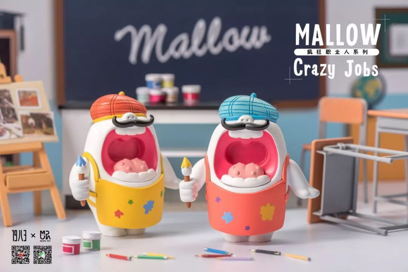 Mallow Crazy Jobs Mini Series : Blind Box PRE-ORDER SHIPS JUL 2019