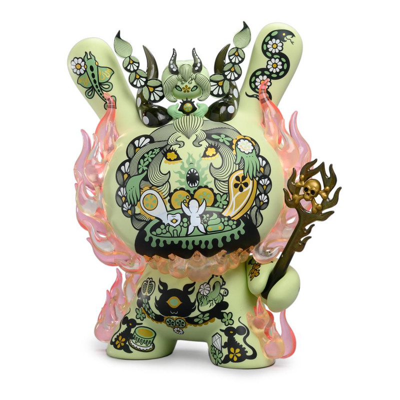 Dunny 8 inch : La Flamme by Junko Mizuno SHIPS LATE OCT 2019