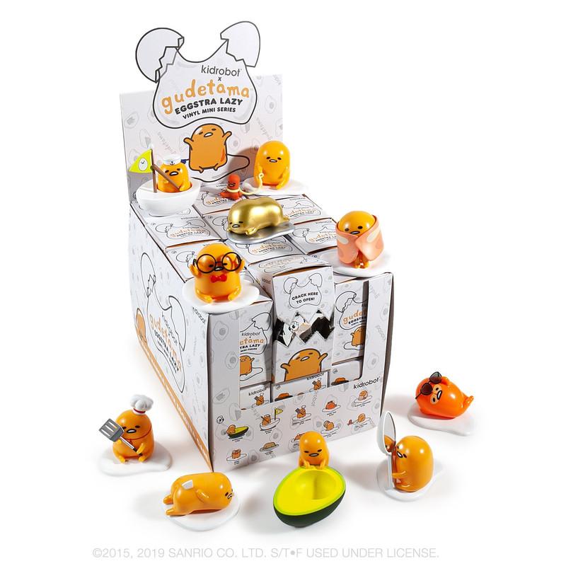 Gudetama Eggstra Lazy Mini Series : Blind Box