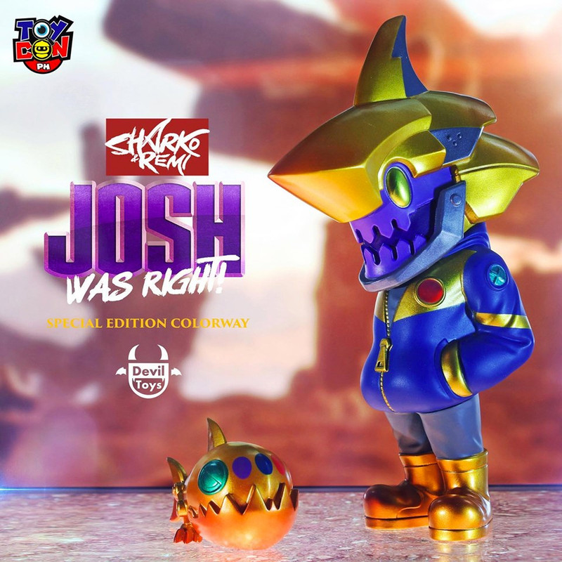 Sharko & Remi Josh Was Right by Quiccs x CHK DSK PRE-ORDER SHIPS JUL 2019