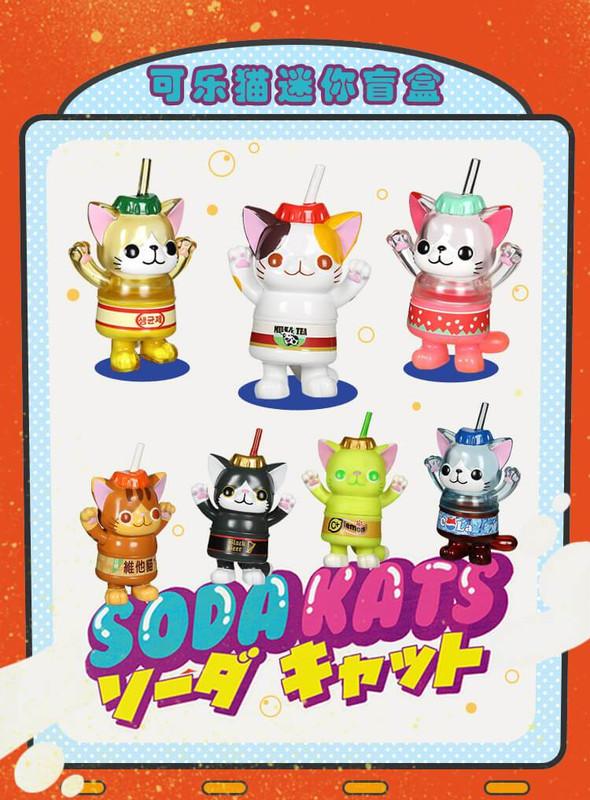 Soda Kats Mini Figures Blind Box