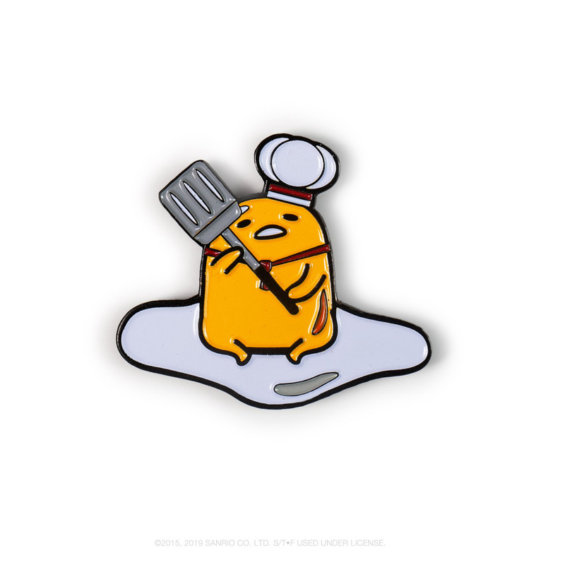 Gudetama Eggstra Lazy Enamel Pin Series : Blind Box