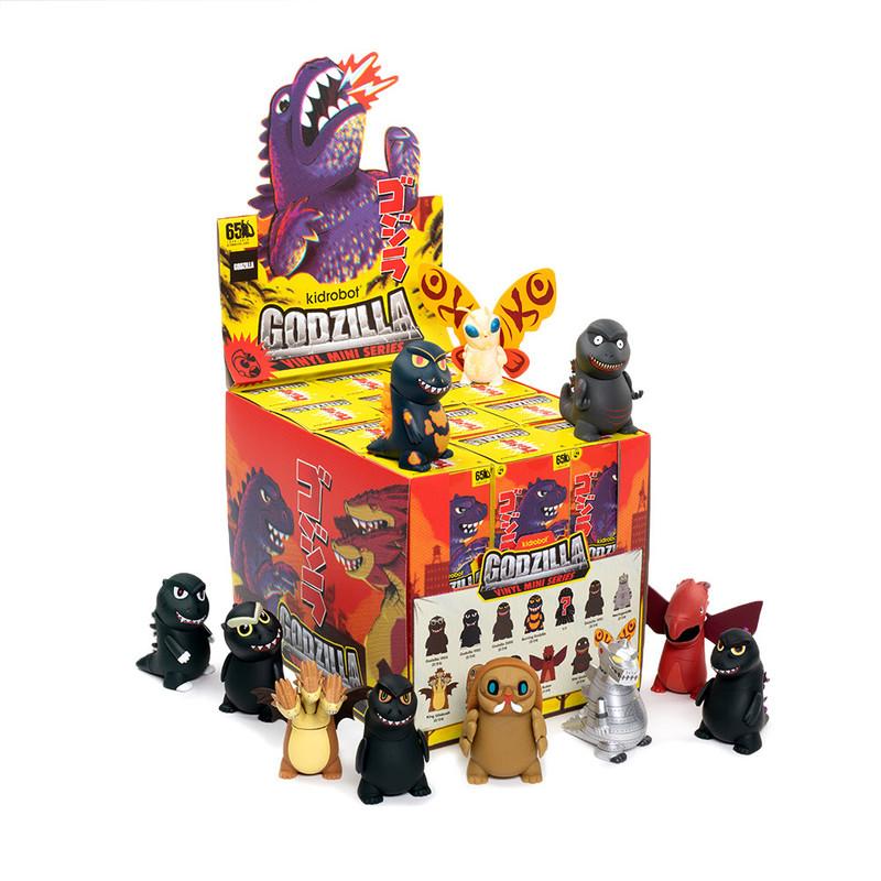 Godzilla Vinyl Mini Series : Blind Box