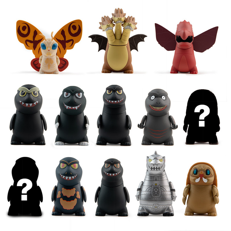 Godzilla Vinyl Mini Series : Blind Box