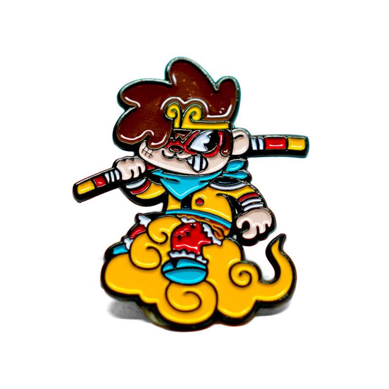 Jung Wukong Enamel Pin by Javier Jimenez