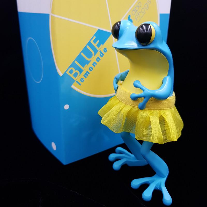 APO Frogs Blue Lemonade by Twelvedot