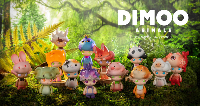 Dimoo Animals Mini Series by Ayan : Blind Box