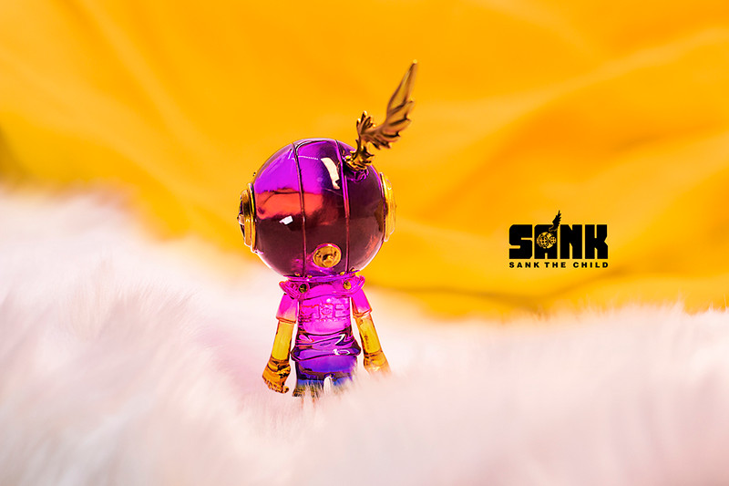 Little Sank Spectrum Violet by Sank Toys