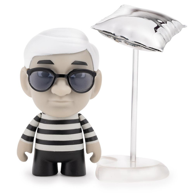 "3"" Andy Warhol Many Faces of Andy Vinyl Art Mini Series : Blind Box"