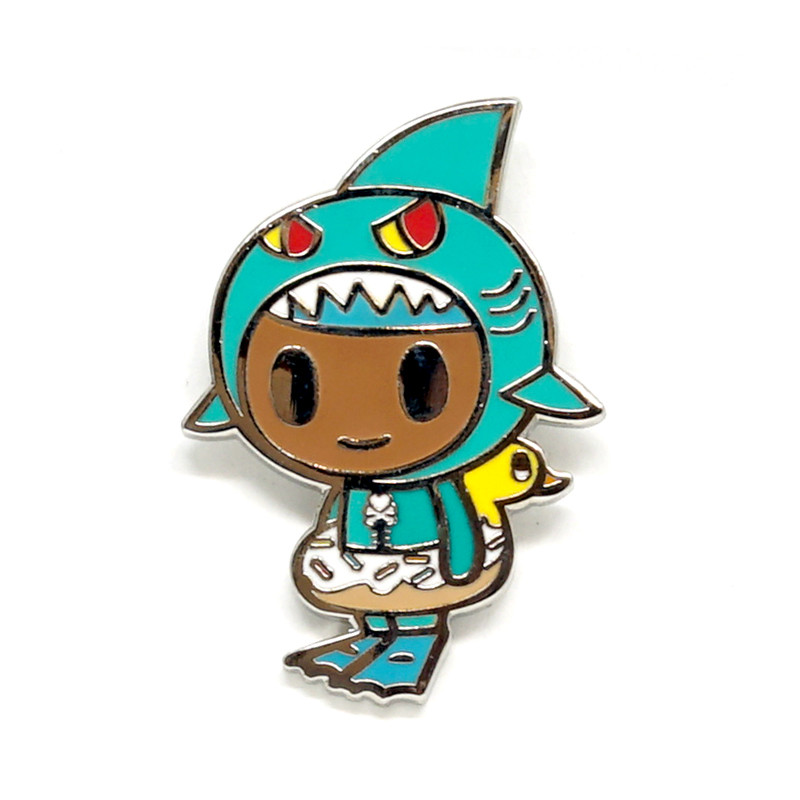 Little Shark Enamel Pin