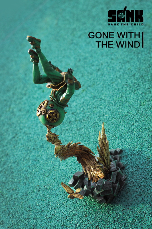 Sank the Child : Gone with the Wind Bronze Age PRE-ORDER SHIPS SEP 2019