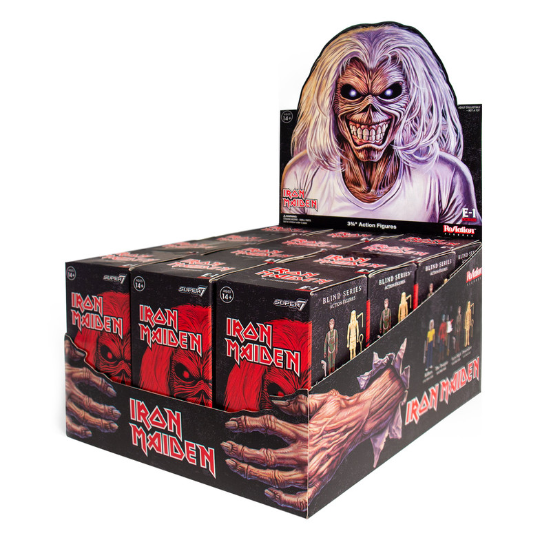 Iron Maiden ReAction Figure : Blind Box