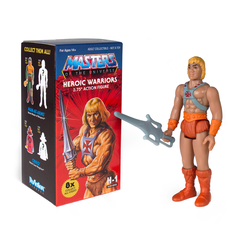 Masters of the Universe ReAction Figure : Castle Grayskull Blind Box