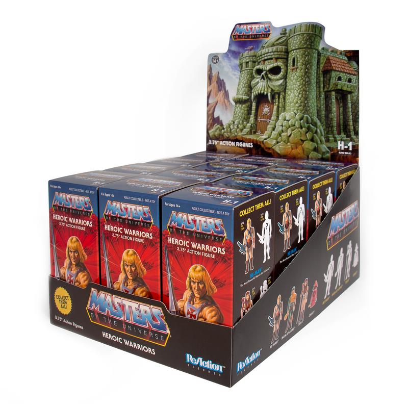 Masters of the Universe ReAction Figure : Castle Grayskull Blind Box