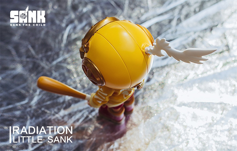 Little Sank Radiation by Sank Toys PRE-ORDER SHIPS END OF AUG 2019
