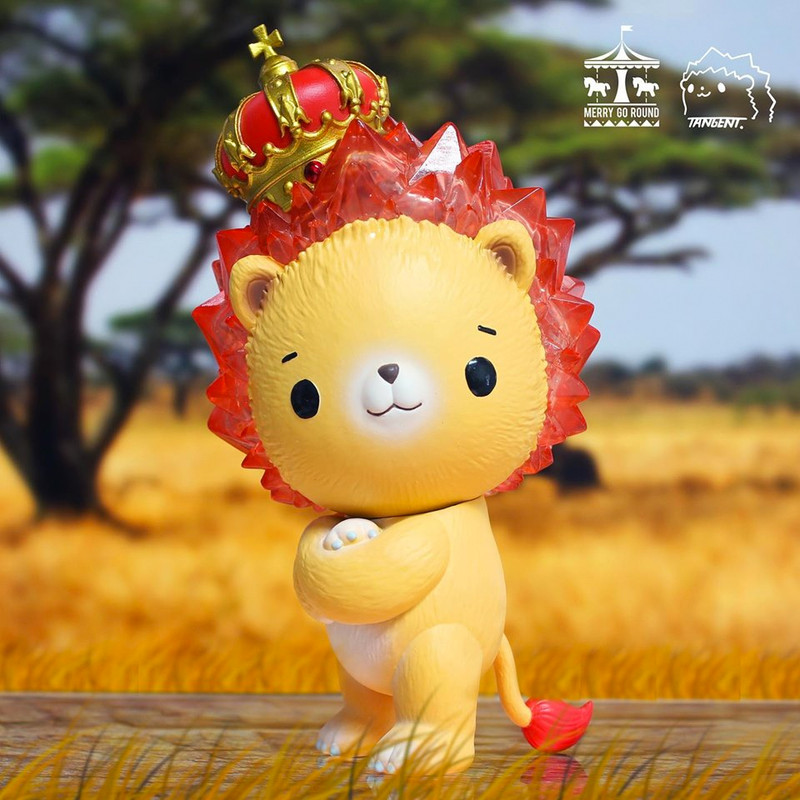 Sunny the Crystal Lion by Tangent