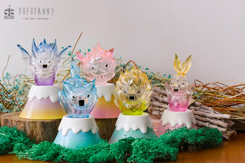 BOOF !!! The Volcanic Animals by Fufufanny : Blind Box